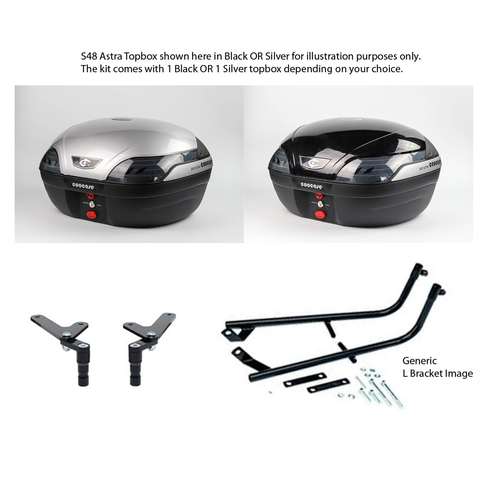 ER6N ER6F 06-08 Silver Astra Luxury KIt
