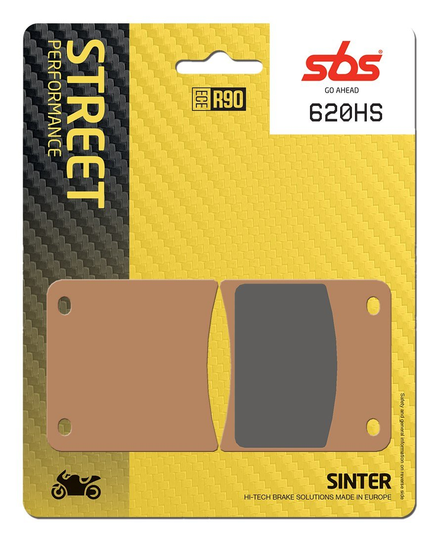 SBS SINTERED BRAKE PADS FRONT ROAD