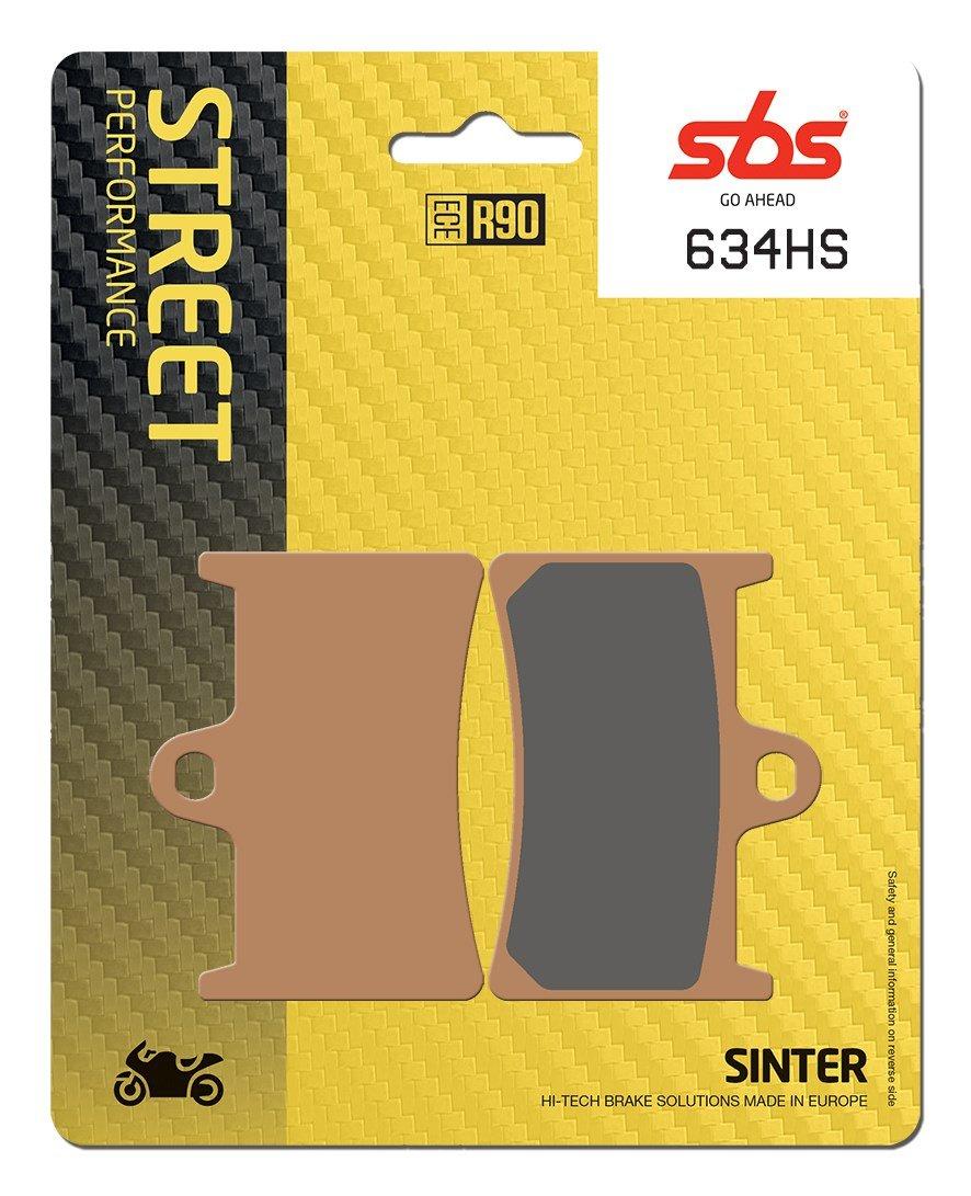 634HS YAMAHA FZ8 800 2010-2013 SBS Street Front Sintered Brake Pads