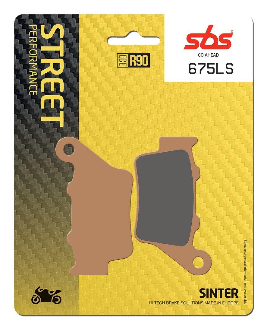 BMW S1000R SBS Sintered Rear Brake Pads 675LS 2014-2015