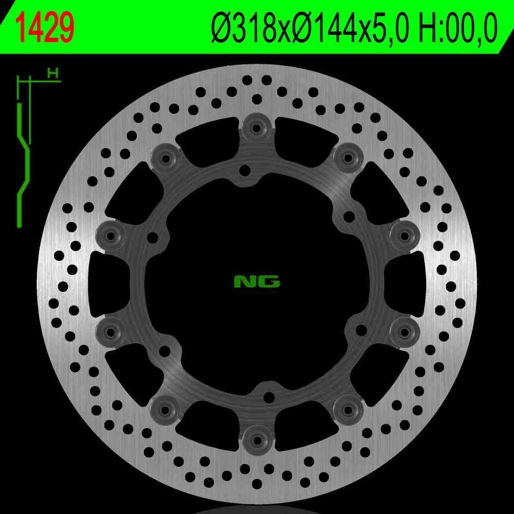 NG Premium Brake Rotor (Triumph Thruxton)