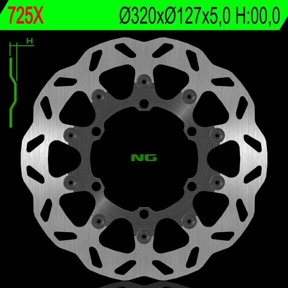 NG Premium Brake Rotor 320mm Wave type