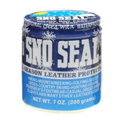 SNO-SEAL JAR 7oz 200g (SINGLE) BEES WAX - Click for more info