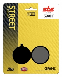 SBS CERAMIC BRAKE PADS FRONT-REAR