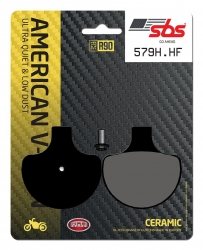 SBS HD CERAMIC BRAKE PADS FRONT-REAR