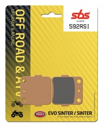 SBS OFFROAD RACING BRAKE PADS FR-RR