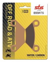 SBS SINTERED BRAKE PADS ATV FRONT-REAR