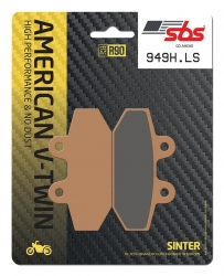 SBS RACING BRAKE PADS REAR
