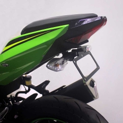 NINJA 400 18-20 (Black Oggy Fender Eliminator) - Click for more info