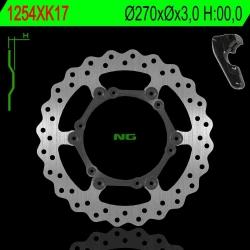 NG Oversize Rotor Kit 270mm Includes Bracket