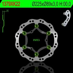 NG Oversize Rotor Kit Includes Bracket