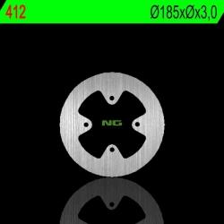 NG Premium Brake Rotor Oem Replacement