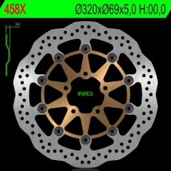 NG Premium Brake Rotor Wave Type