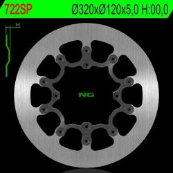 NG Premium Brake Rotor 320mm NON Vented