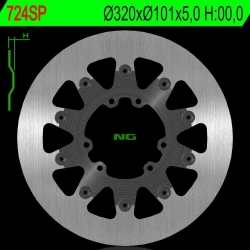 NG Premium Brake Rotor 320mm NON Vented