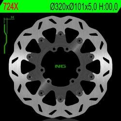 NG Premium Brake Rotor 320mm Wave type