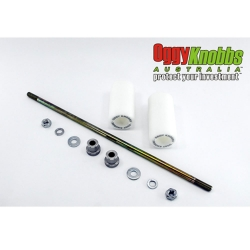 GS500E 89-17 (White frame slider kit)