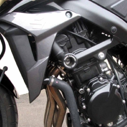GSR750 11-17 (Black frame slider kit)