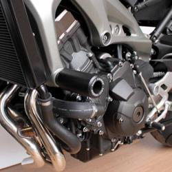 MT09 14-16, TRACER 900 15-20 & XSR900 16-21 (Blk frame slide kit; case saver inc