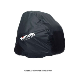 DUAL MISTRAL STORM COVER - BLK FITS 2 X 47L ZIPPED TOGETHER