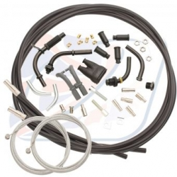 UNIVERSAL TWIN THROTTLE CABLE  KIT