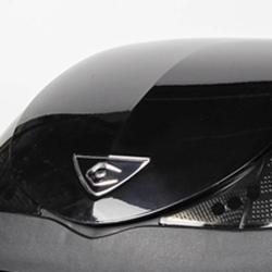 V36 Lid Panel Metalic Black PU5854